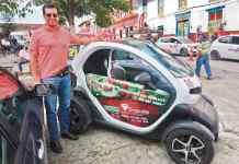 Carlos García disputará la última válida del Campeonato Regional Trepadores en un Renault eléctrico