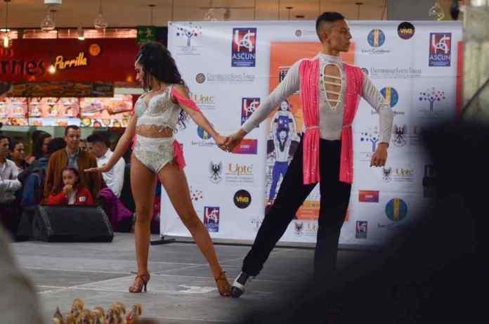 Las instalaciones de la Uptc fueron el epicentro de los encuentros de baile de los estudiantes universitarios de todo el país