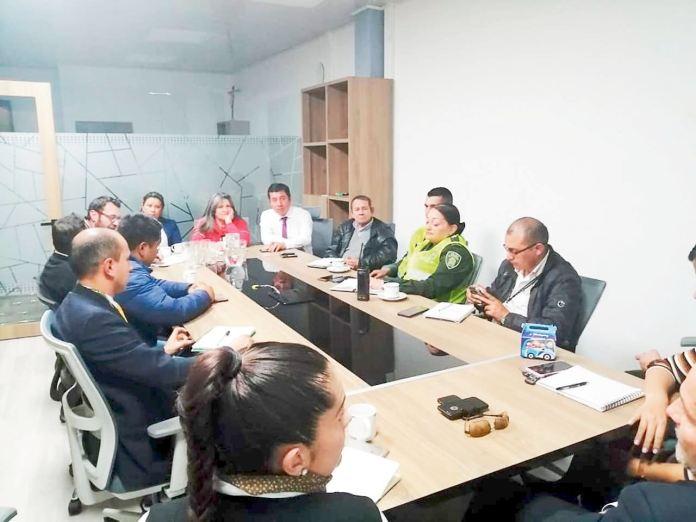 Empresas de transporte, comerciantes, Policía y Cámara de Comercio se unen para frenar el hurto y la inseguridad en la ciudad de Sogamoso
