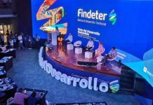 Findeter -Banca de Desarrollo Territorial- realiza el evento 'Ruta del Desarrollo Sostenible' en Santa Marta.