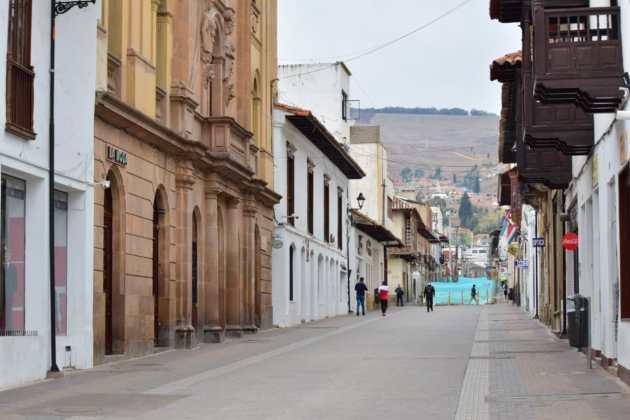 [Galería] Las calles de Boyacá permanecen solas en el primer día de Simulacro de Aislamiento por COVID - 19 26