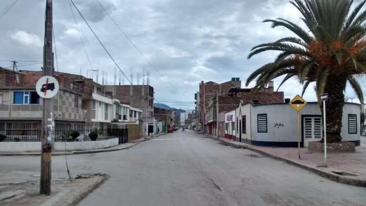 [Galería] Las calles de Boyacá permanecen solas en el primer día de Simulacro de Aislamiento por COVID - 19 5