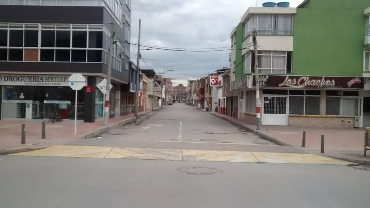 [Galería] Las calles de Boyacá permanecen solas en el primer día de Simulacro de Aislamiento por COVID - 19 2