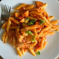 Leftover Chicken Pasta