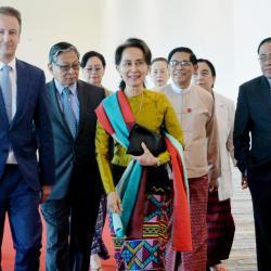 Myanmar's Aung San Suu Kyi: 'Defending the indefensible'