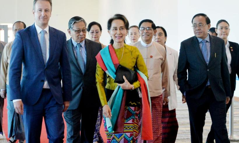Myanmar's Aung San Suu Kyi: 'Defending the indefensible'