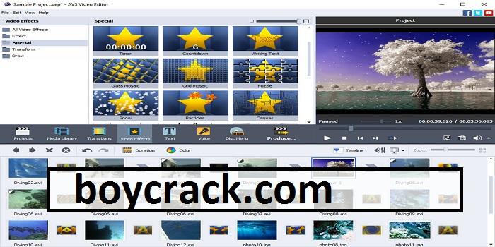 AVS Video Editor Crack + Torrent Download Patch