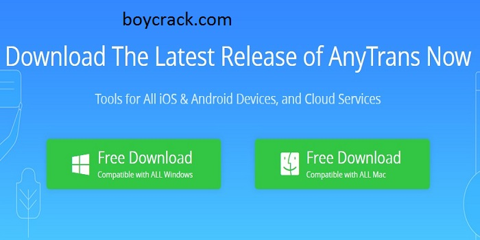 AnyTrans Crack with free Torrent Download