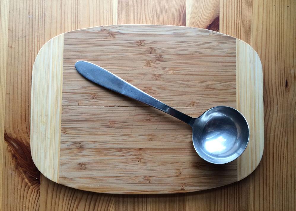 A ladle.