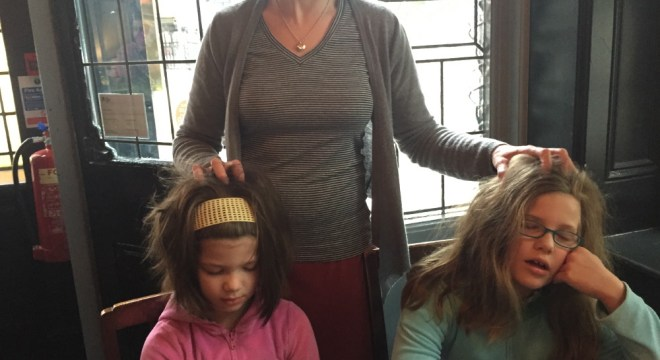 Scalp massages at The Champion.