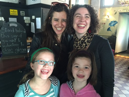 The Boyd ladies with Sivan.