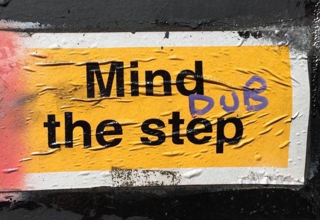 Mind the step.