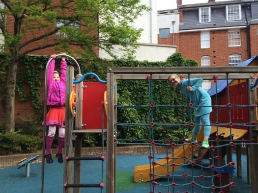 London playground.