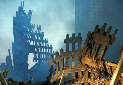 2001 Twin Towers Collapsed