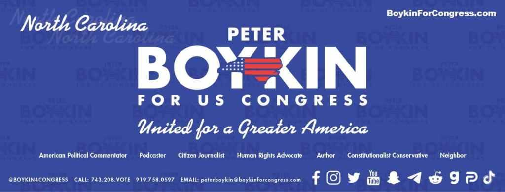 Peter Boykin For US Congress BoykinForCongress.com