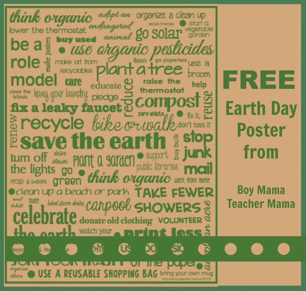 Teacher Mama Free Earth Day Activities After School