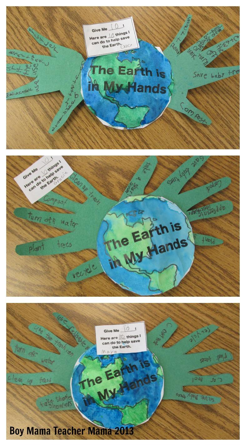 medium resolution of Earth Day Activity - Boy Mama Teacher Mama
