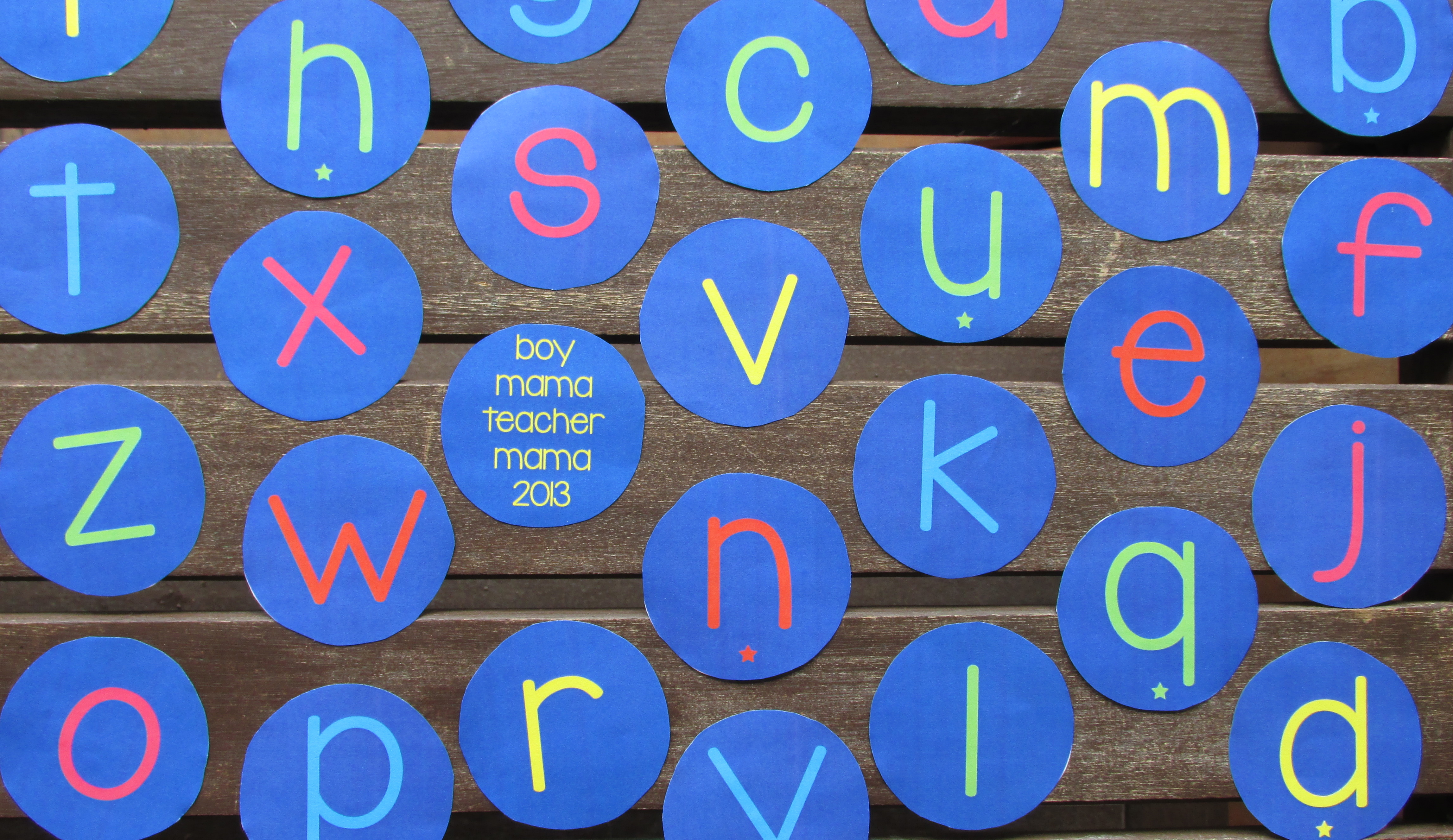 Teacher Mama Teaching Vowels And Consonants To Children