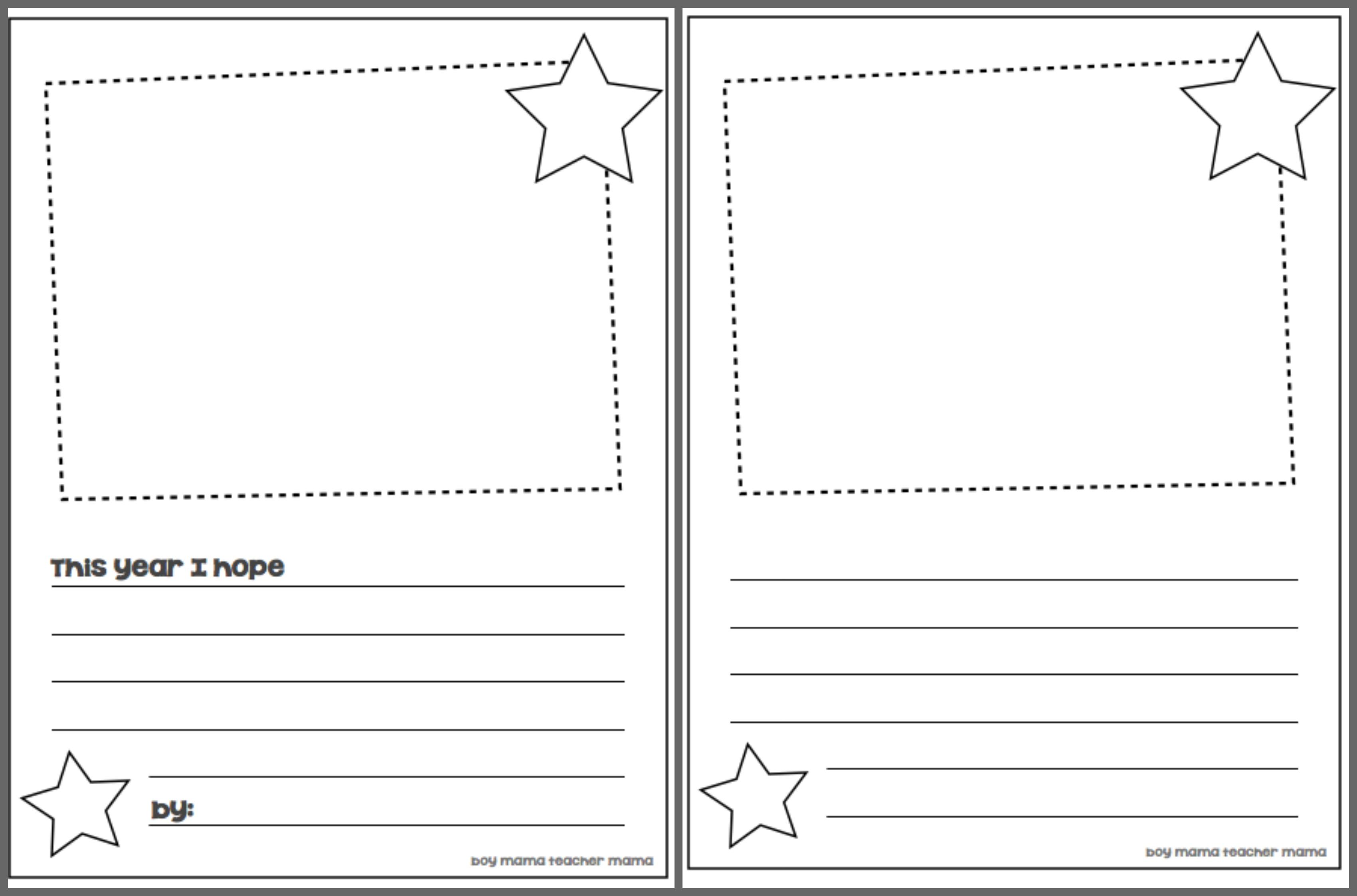 Printable Handwriting Paper 1st Grade