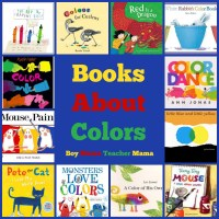 Book Mama: Books about Colors - Boy Mama Teacher Mama