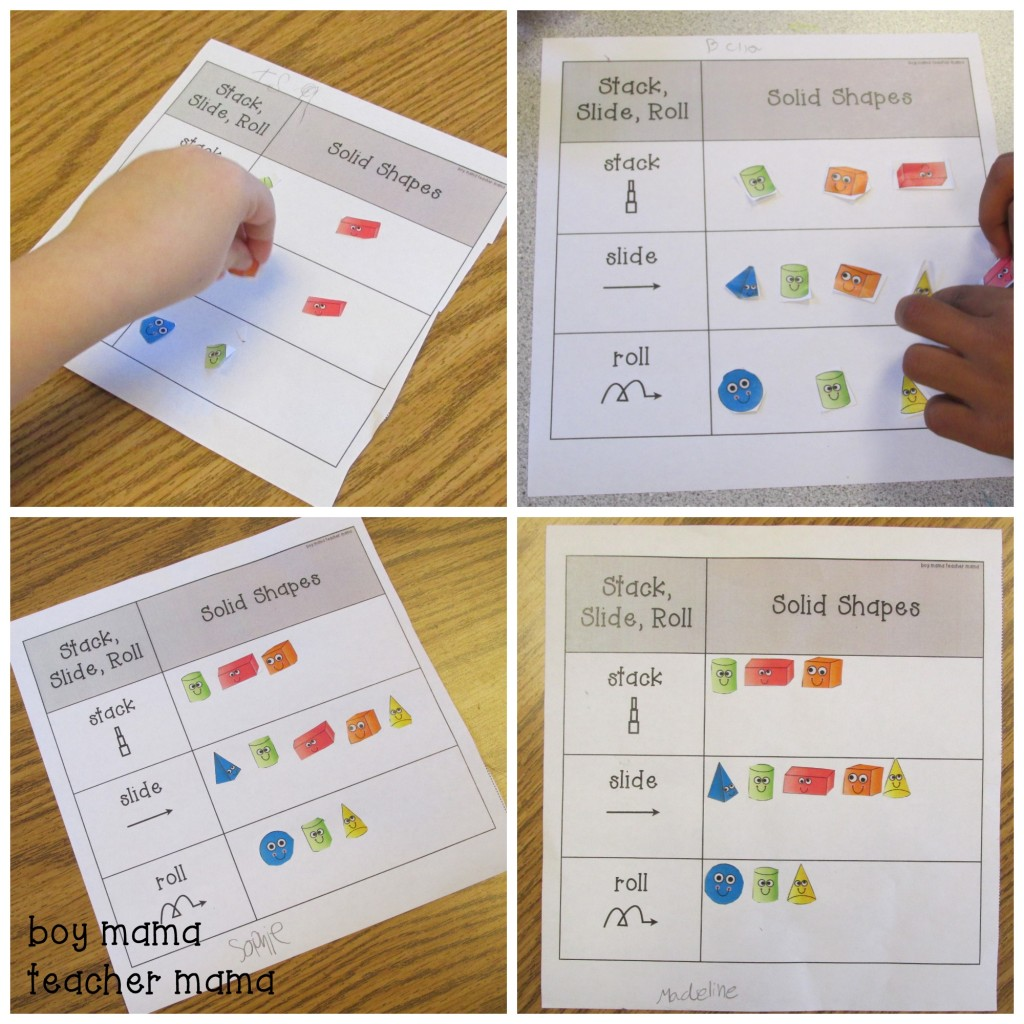 Teacher Mama Activities For Teaching Solid Shapes After