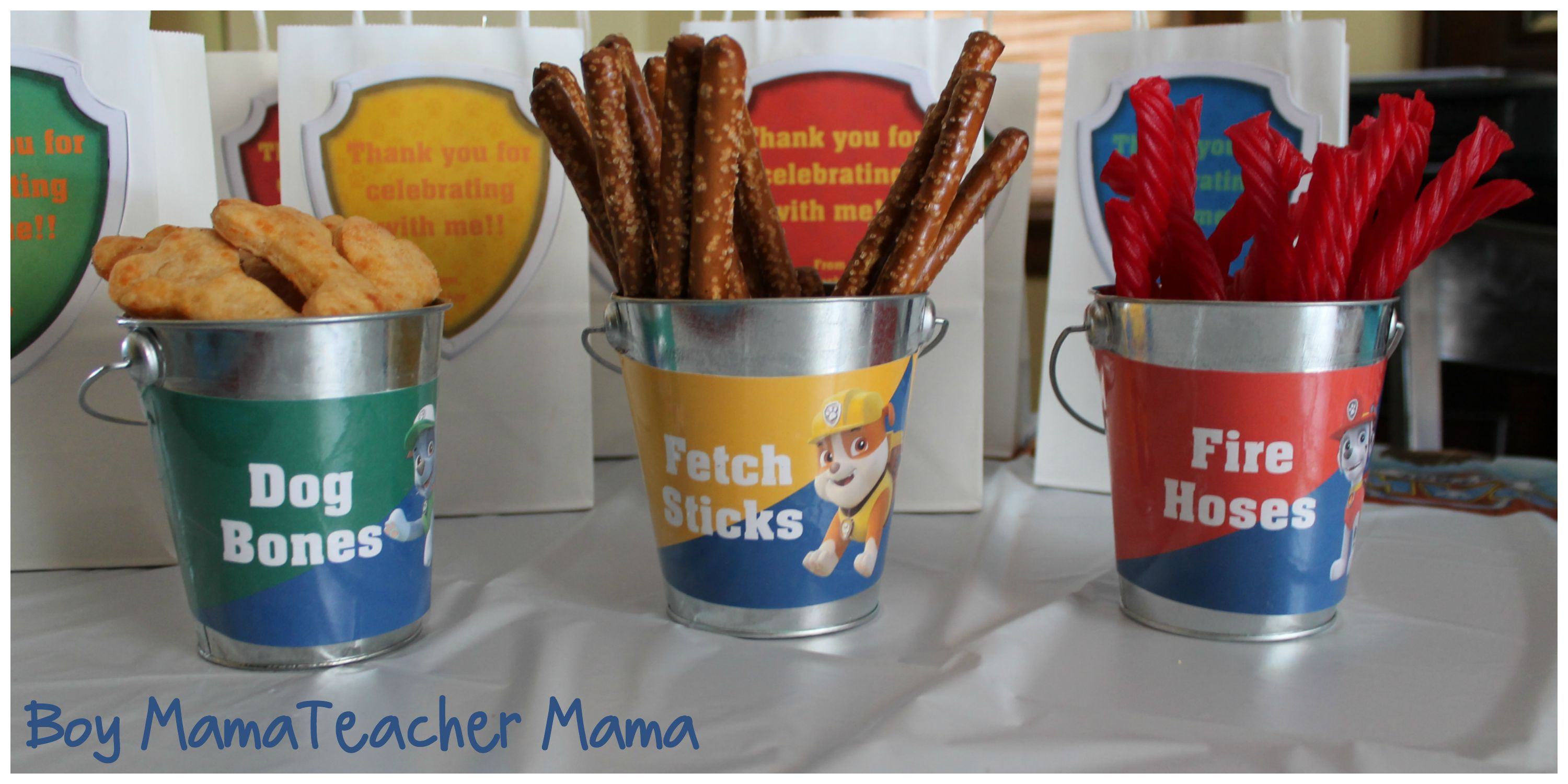 boy mama teacher mama paw patrol party