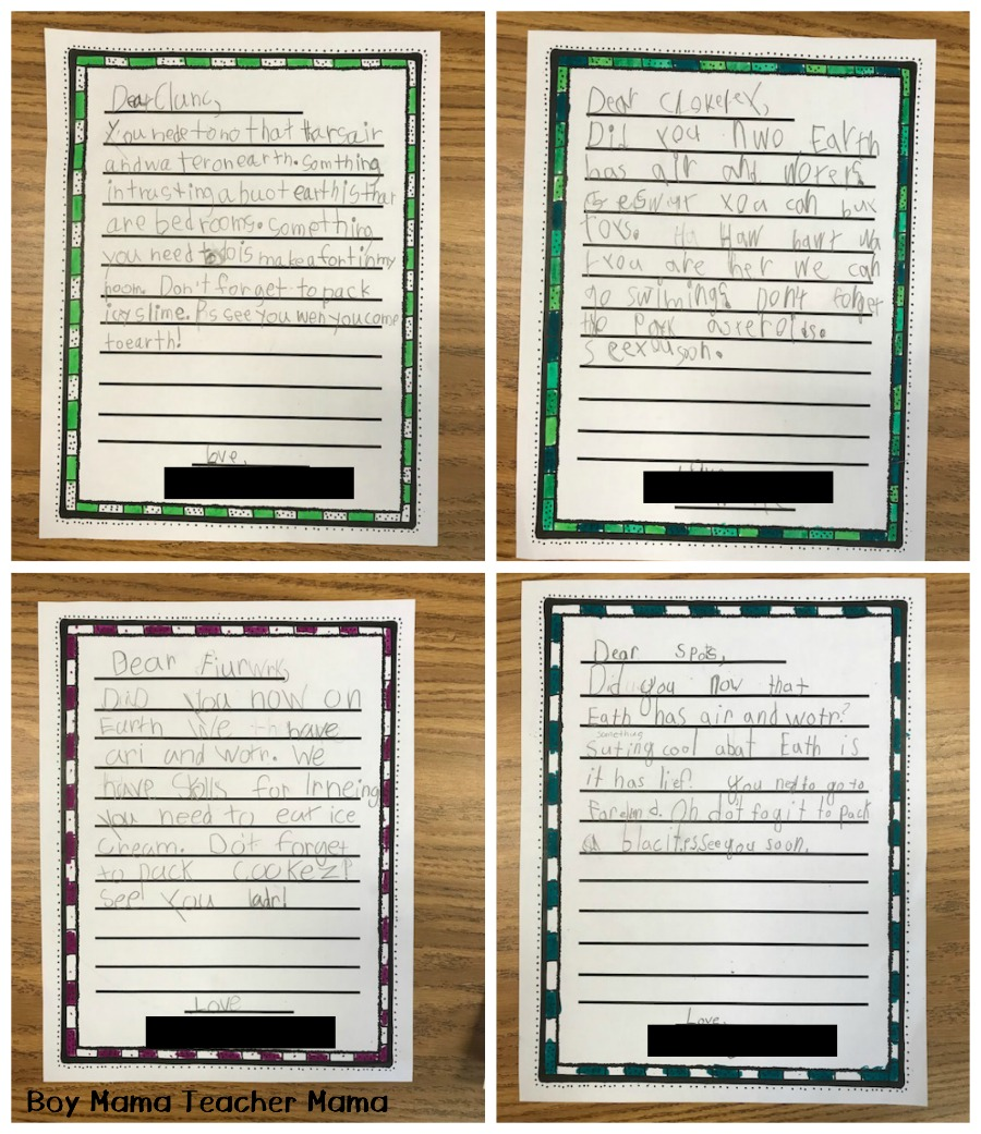 medium resolution of 8 Space Writing Activities for the Classroom - Boy Mama Teacher Mama