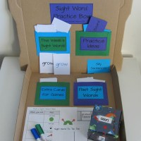 Teacher Mama: Sight Word Practice Box