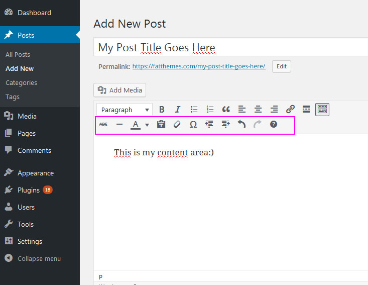 How to start blogging add new post