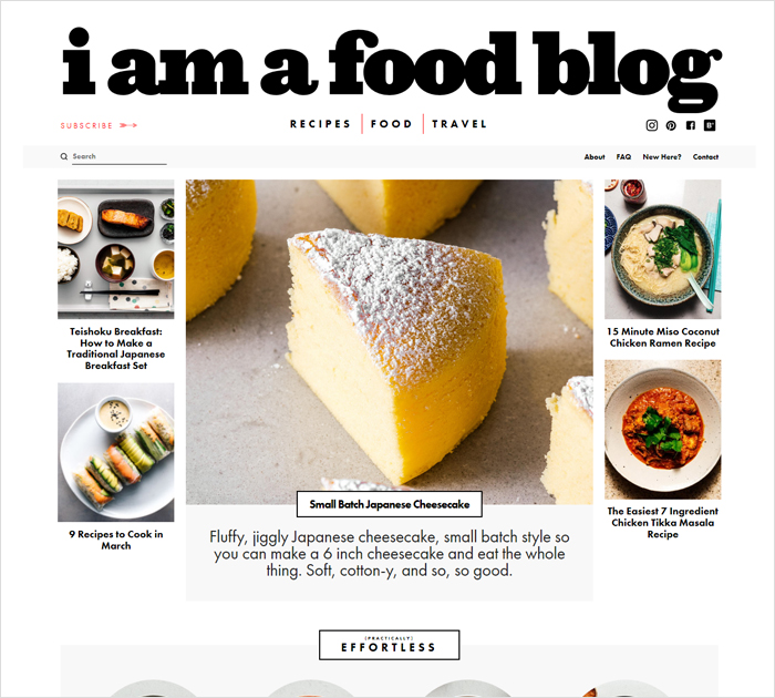 Best food bloggers
