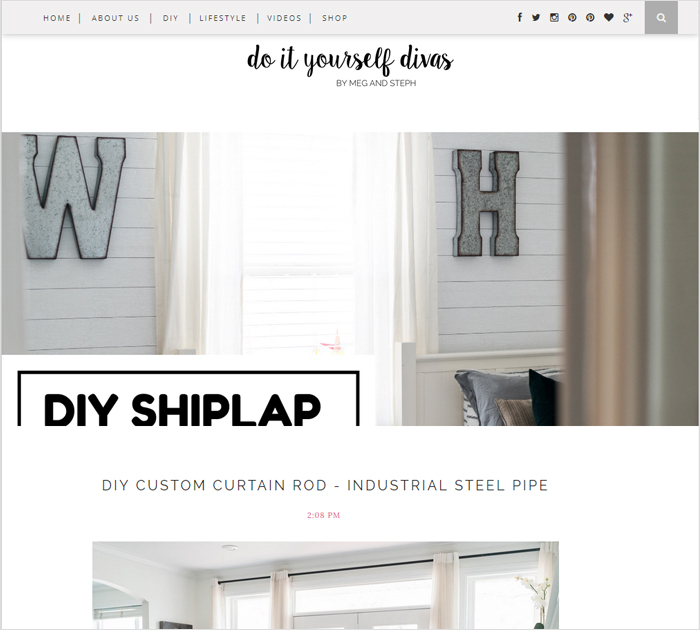 DIY blog and bloggers