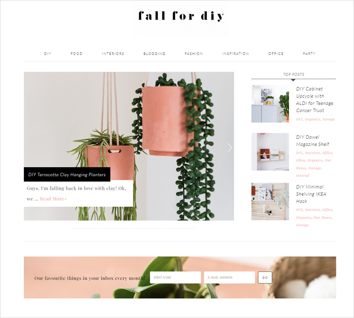 Best DIY blogs & bloggers