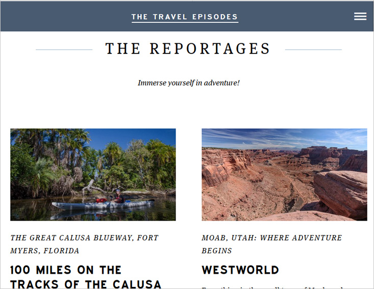 The Travel Episodes Blog