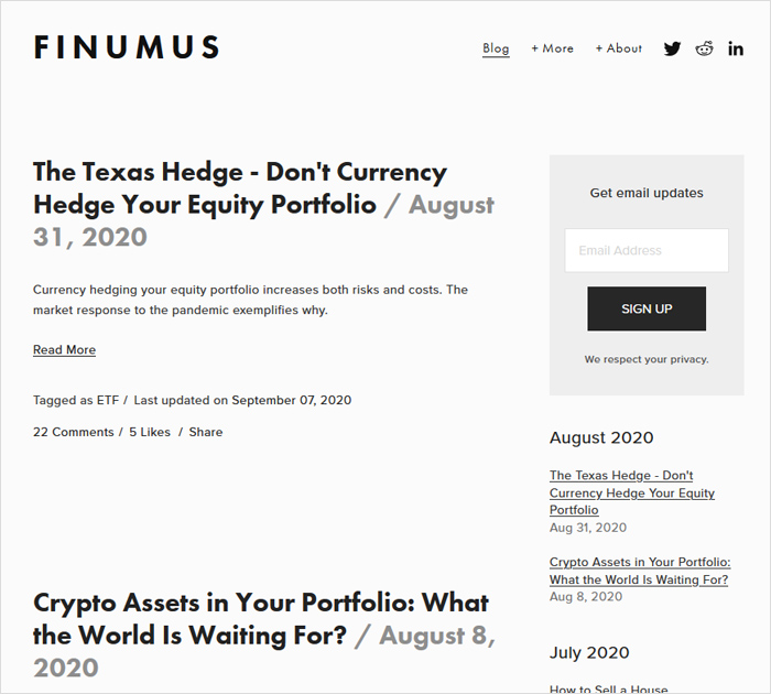 finumus.com - Best Personal Finance Blog