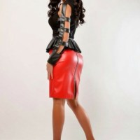 Stunningly Curvaceous Sexy Ladies Clad In Real Leather