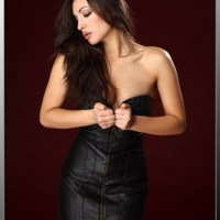 Curvaceous Sexy Ladies Clad In Real Leather