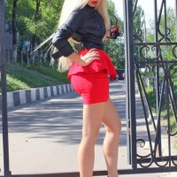 Revealing Red Hot Ladies In Red And Black