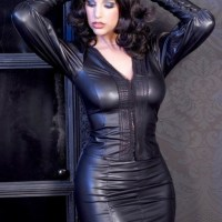 Beautiful Curvaceous Sexy Ladies In Real Leather