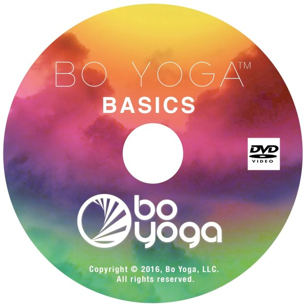 Bo Yoga Basics DVD Cover Energy Balance Mindfulness
