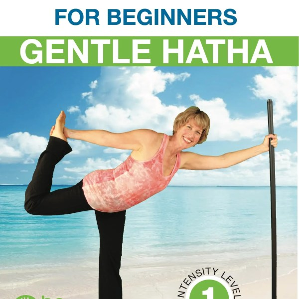 Bo Yoga for Beginners Gentle Hatha DVD Cover