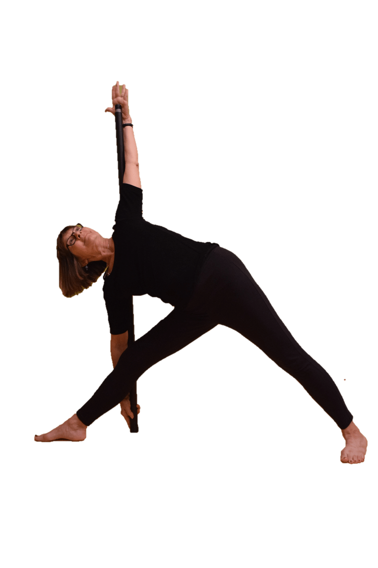 Bo Yoga Triangle Pose Balance Bar