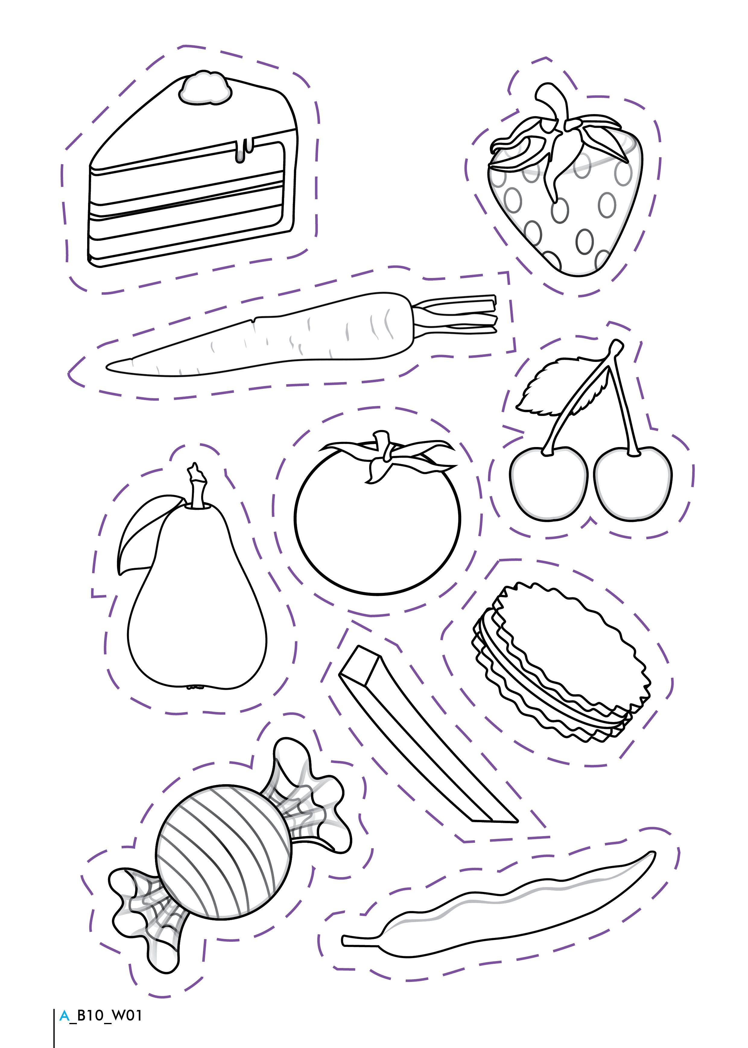 Free Printable Healthy Eating Worksheets