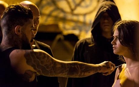 satanic ritual scene