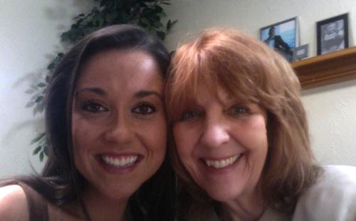 at grannys house selfie