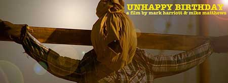 unhappy birthday scarecrow