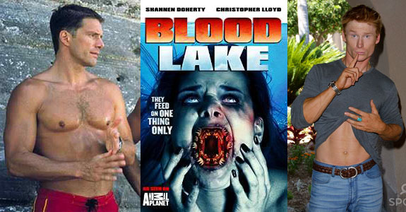 blood lake collage