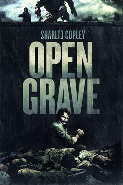 open grave cover