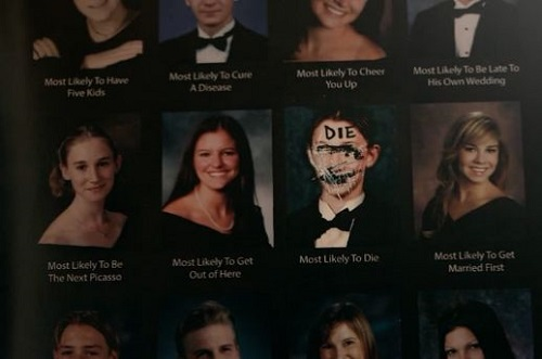 most likely to die photo album