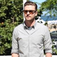 Justin Timberlake já está no Rio para sua apresentação no Rock in Rio.