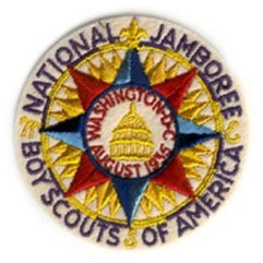 1935 National Jamboree Pocket Patch Original